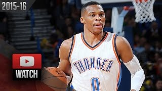 Russell Westbrook Triple-Double Highlights vs 76ers (2015.11.13) - 21 Pts, 17 Reb, 11 Ast