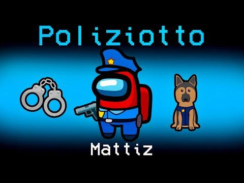 GIOCHIAMO IL NUOVO RUOLO DEL POLIZIOTTO SU AMONG US!! *Mod*