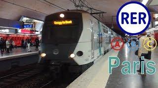 RER A - RER B - RER C in Paris (2017)