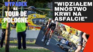 Straszny wypadek na Tour de Pologne!
