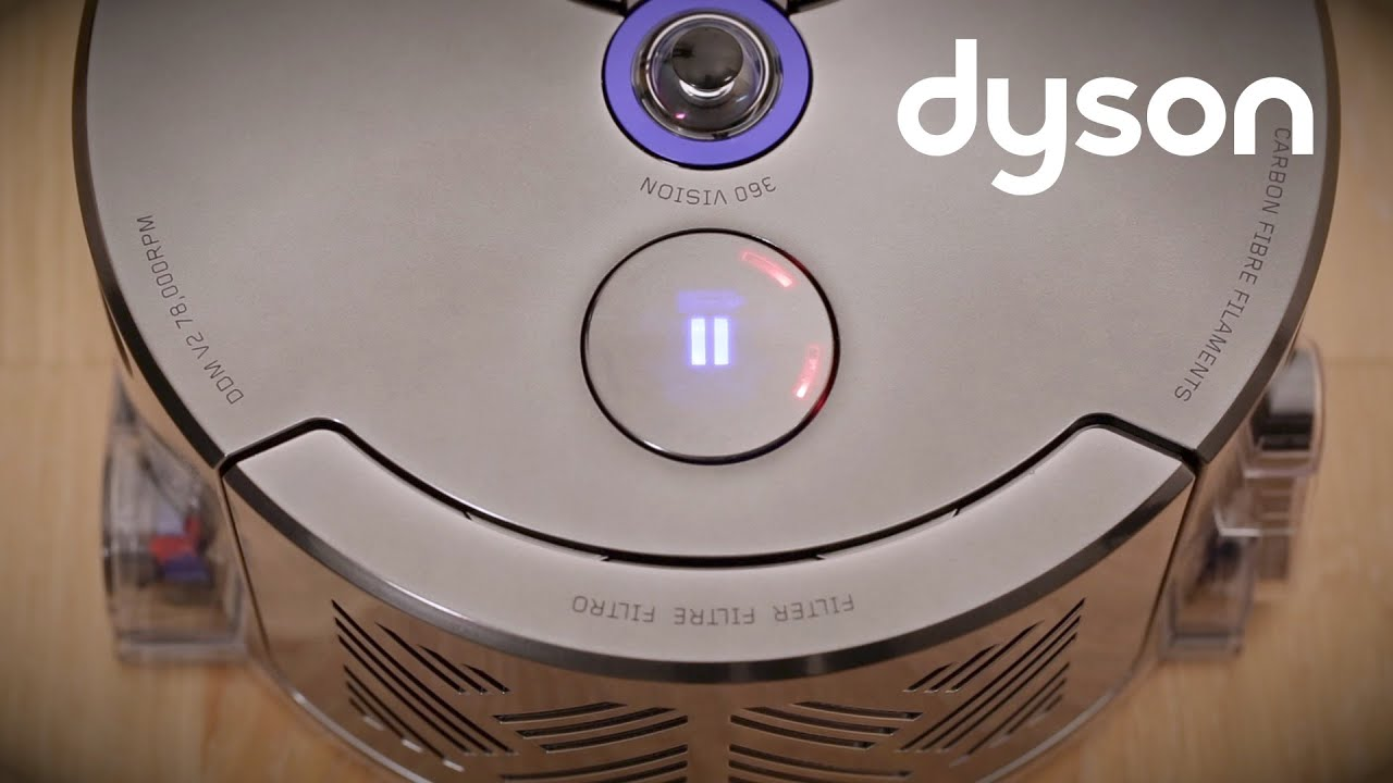 Dyson 360 Eye (Nickel/Blue) - Twice the suction of any robot .