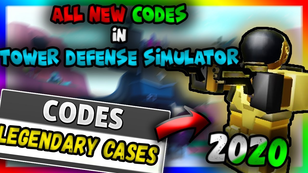 Codes For Tower Battles 2020 Roblox All New Codes In Tower Defense Simulator 2020 Roblox Youtube