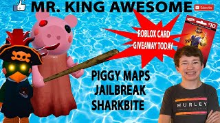 Mr. King Awesome Live Stream! PIGGY And Robux! 100 Likes= Friend Spot! Be subscribed! 2.7k= Robux