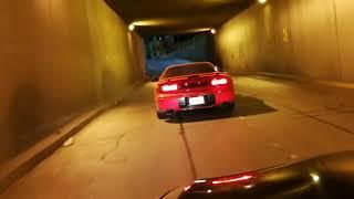 Así se escucha mi nuevo auto en un desnivel 3000gt twin turbo