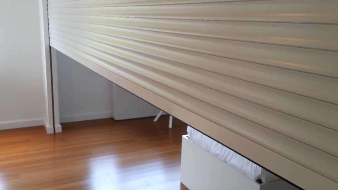 Custom roll shutter divider system star island miami for Motorized blinds not working