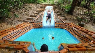 Build Amazing Swimming Pool In Forest