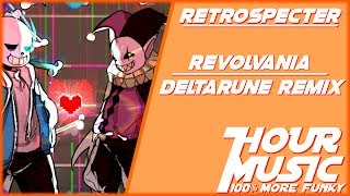 DELTARUNE - REVOLVANIA (THE WORLD REVOLVING x Megalovania Remix) [1 HOUR LOOP]