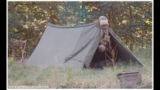 Modified U.S. Army Shelter half | tent | camping | bushcraft
