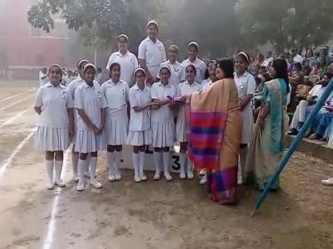 Annual P.T display and Sports Meet