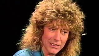 Robert Plant MTV Guest VJ 1988