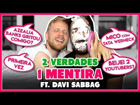 BEIJEI 2 RS juntos? Mico com Tata Werneck  2 VERDADES 1 MENTIRA ft Davi Sabbag - Põe Na Roda