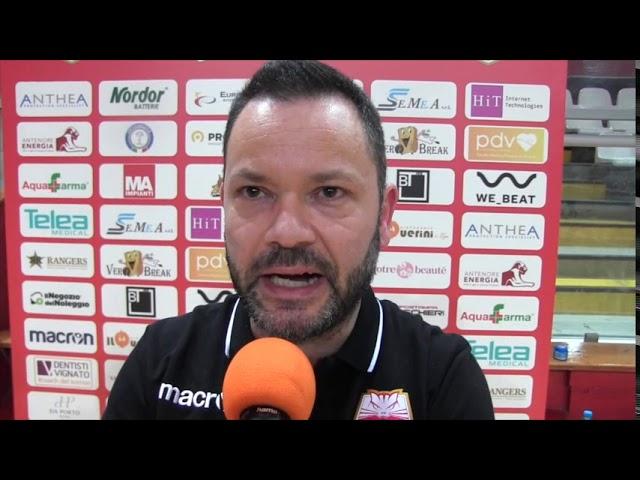 VOLLEY - AntheaVi-VolanoTN, 3-0 - intervista a coach Chiappini