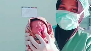 Download Video Aksi perawat memperlakukan bayi lucu yang masih merah merona MP3 3GP MP4