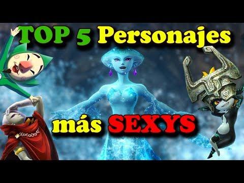 TOP 5 Personajes Más SEXYS De The Legend Of Zelda.