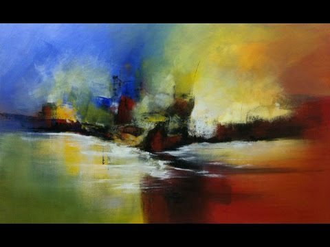 Painting on canvas - Abstract Marine