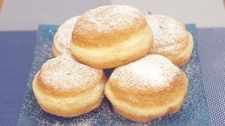 Krofne recept - Donut - Krapfen