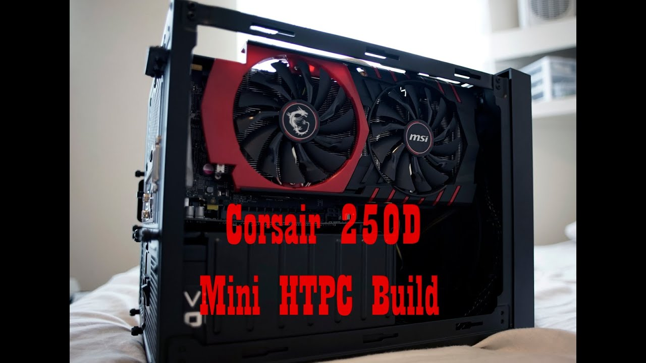 corsair 250d 4670k asrock b85 gtx 970 htpc build youtube
