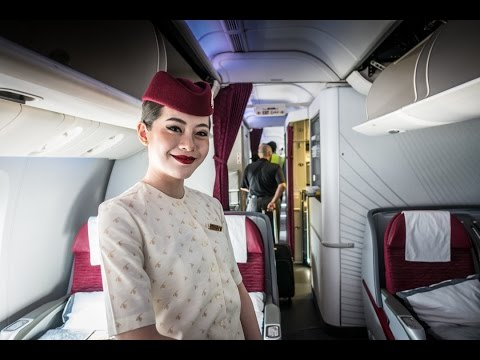 Qatar Airways Polar Flight - Longest Duration Non-Stop LAX-DOH