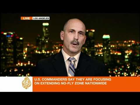 US fighter pilot talks to Al Jazeera