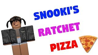 SNOOKI'S RATCHET PIZZA PT 1 | A ROBLOX COMEDY