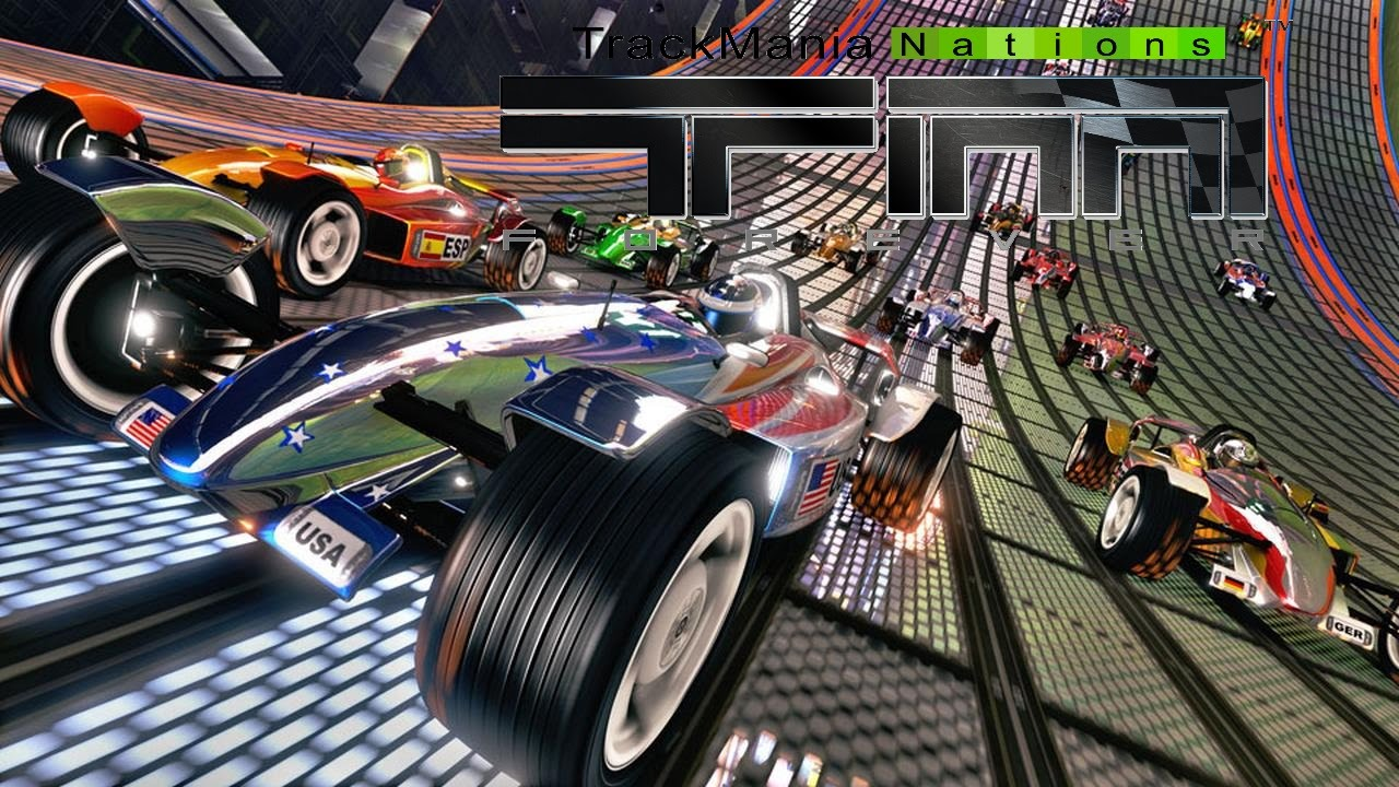 Trackmania Nation Forever Gameplay Pc Fr Hd Youtube