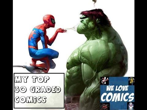 My top 30 graded comics.