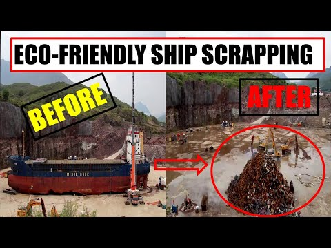Maritime News/6 Phases of an  Eco-Friendly Ship Scrapping and Disposal/June 2020 at  Kishorn Port