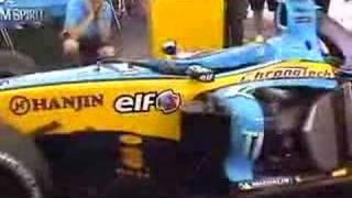 Musique d'une Renault F1
