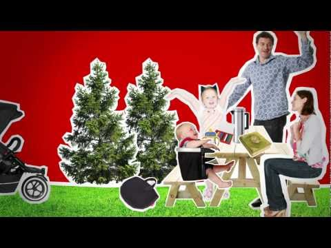 lobster clip on high chair  –  the video – phil&teds