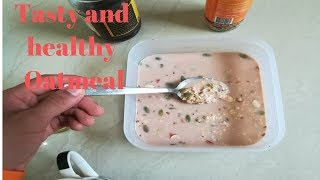 Not getting proper breakfast? Try this quick tasty Oat meal and your problem is solved!!!