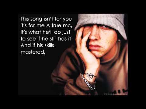 Eminem - No Apologies [HD] [Lyrics on screen]
