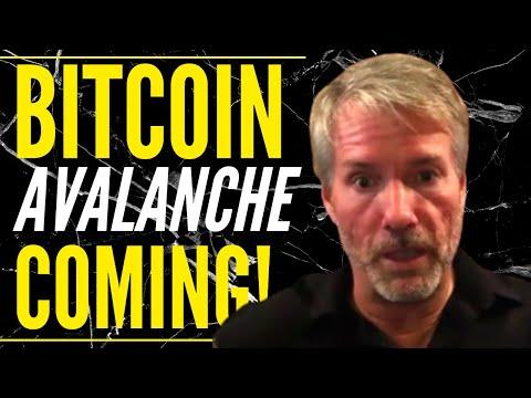 Michael Saylor There Is An AVALANCHE Coming For Bitcoin, Blackrock Buys Bitcoin \u0026 Bitcoin Prediction