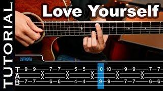 love yourself de ed sheeran ft justin bieber lesson tutorial guitar chords guitarraviva