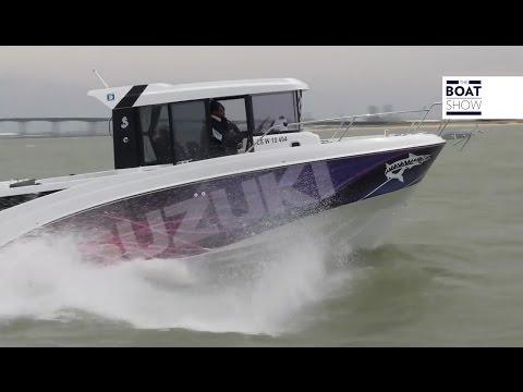 [ENG] BENETEAU BARRACUDA 8 at BARRACUDA TOUR 2016 - The Boat Show