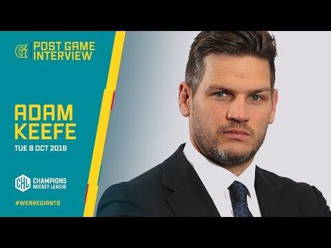 POST-GAME INTERVIEW: Adam Keefe