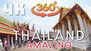 "Amazing Thailand Bangkok 360VR Great Temple ""Wat Arun"" short 10 