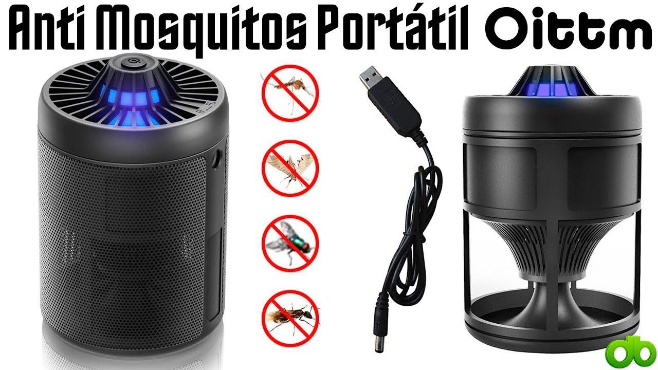Mosquitos USB Oittm Lámpara Dormitorio para Portátil Anti etc Review Camping Unboxing y Oficina LED AL4Rj5