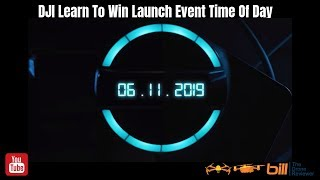 DJI Learn To Win Launch Event Time Of Day