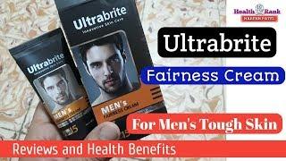 Ultrabrite Fairness cream || For Men