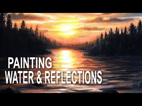 Painting Water and Reflections with Acrylics