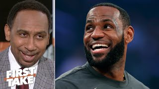 Stephen A. still picks LeBron over Patrick Mahomes as the MVP of all of sports | First Take