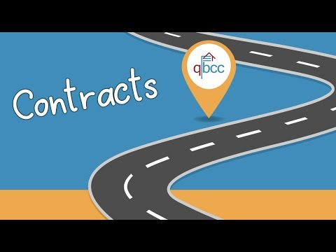 Contracts   ? QBCC Security of Payment Roadshow Part 1 - YouTube