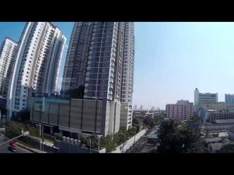 SJ4000 Wifi Action Cam Video Quality / Bangkok Skytrain/ Thailand/ FullHD