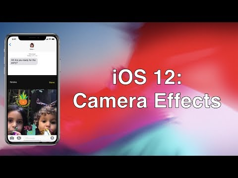 iOS 12: Camera Effects - YouTube