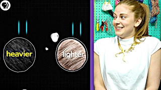 Can you solve these physics riddles? ft Simone Giertz - Part 1/3