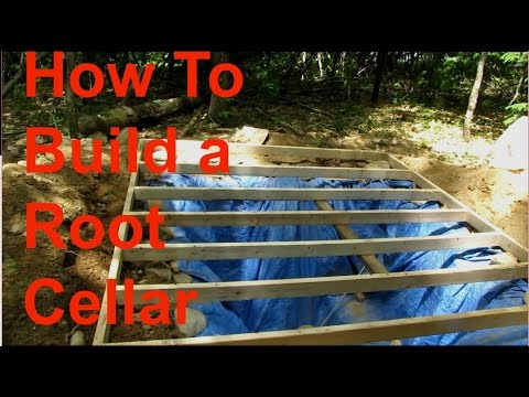 How to Build a Root Cellar Part 4  YouTube
