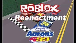 ROBLOX 2011 Aaron's 499 finish reenactment