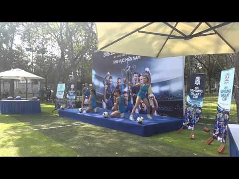[BCA DANCE GROUP] LA LA LA SHAKIRA - SAMSUNG GALAXY CUP event - CHEERLEADER DANCE