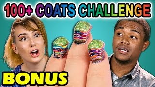 College Kids React to 100+ Coats Challenge (Bonus #2)