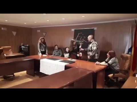 Emma Pedreira recibe en Sarria o premio de poesía Fiz Vergara Vilariño